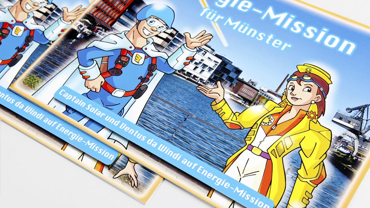 X und Y Design Stadtwerke Muenster Energie Mission