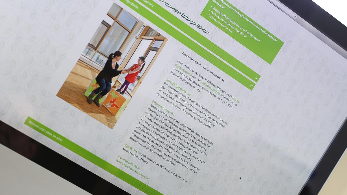 X und Y Design Kommunale Stiftungen