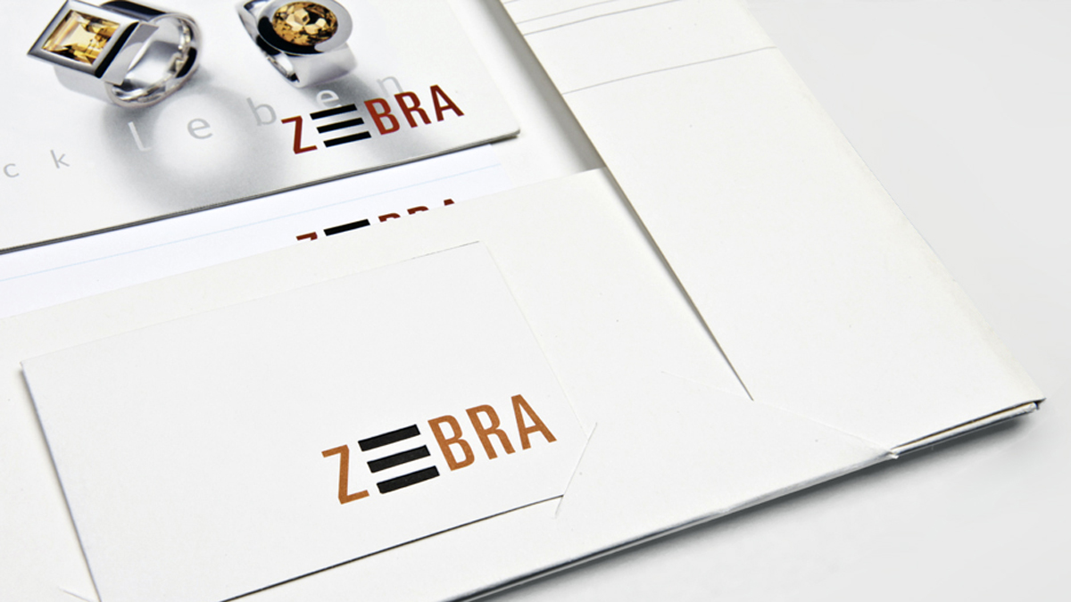 X und Y Design und Kommunikation Zebra Design