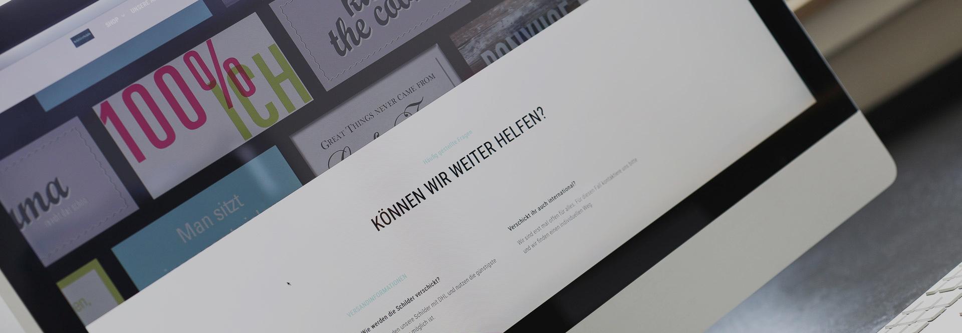 Webseiten von X & Y