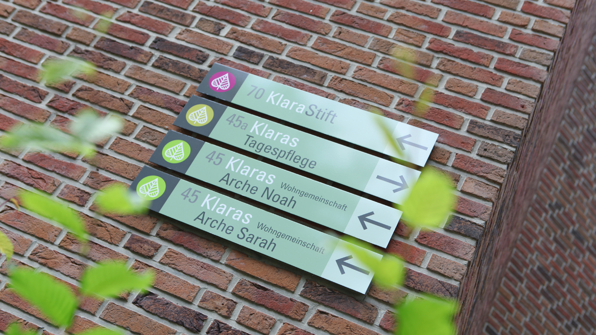 X und Y Design Kommunale Stiftungen Klarapark